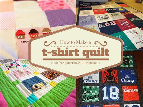 How to Make a T Shirt Quilt   FaveQuilts.com