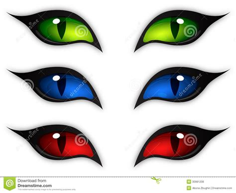 Vector Clip Of A Set Of Different Colored Cat Royalty Free Stock Photos Image 30981208