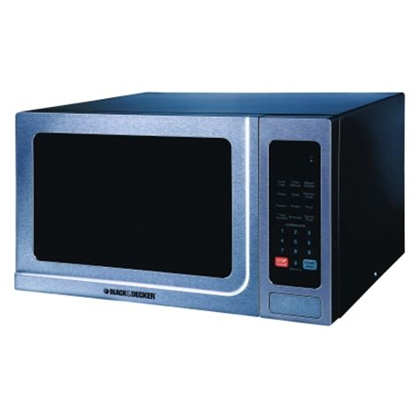 Microwave Di Ace Hardware black decker microwave 1 4 cu ft 1 000 watts stainless