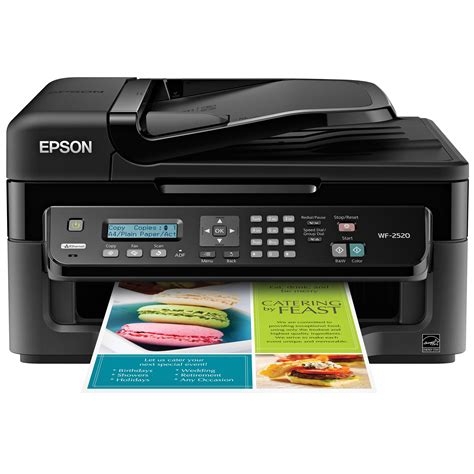 Printer Epson epson workforce wf 2520 network color all in one c11cc38201 b h