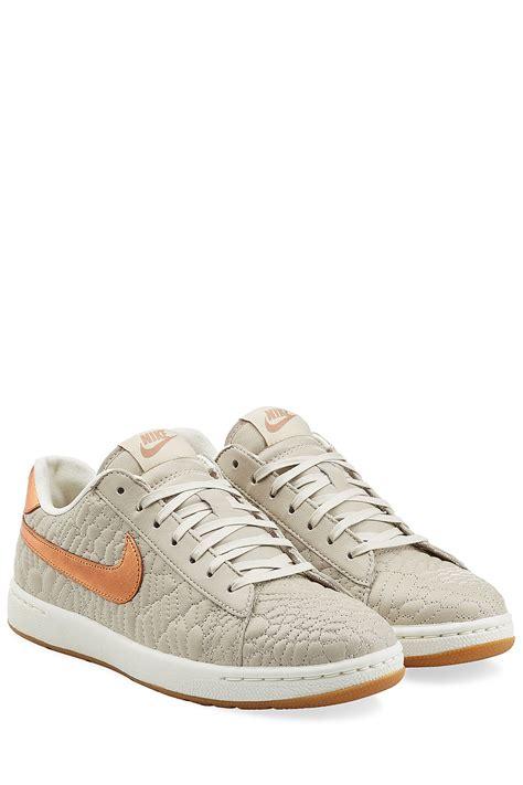 beige sneakers nike classic ultra premium quilt leather sneakers beige