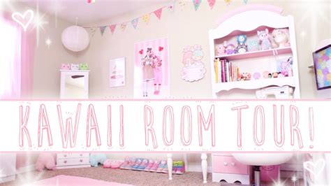kawaii bed alexa s kawaii room tour youtube