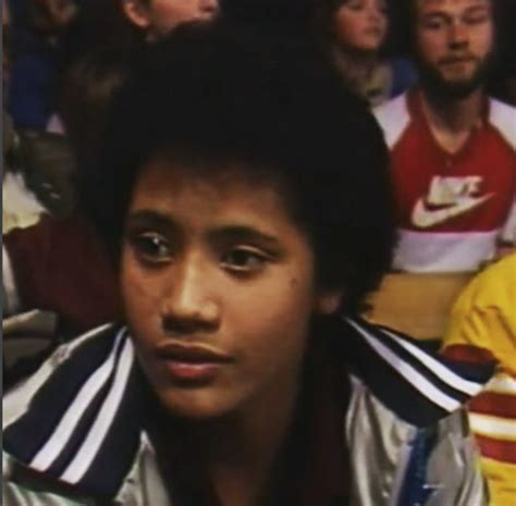 dwayne the rock johnson wwe debut the rock talked about his wwf debut as an 11 year old