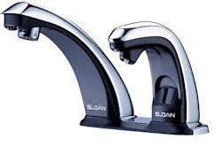 Sloan Auto Faucet by Sloan Optima Combo Automatic Faucet Soap Dispenser