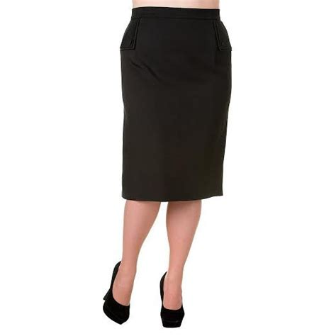 black plus size pencil skirt by banned apparel sale