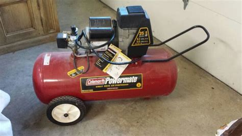 coleman 5hp 25 gallon air compressor for sale in plano tx offerup