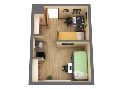 Bedroom Addition Floor Plans by Residence Halls 187 Housing 187 Midwestern State University