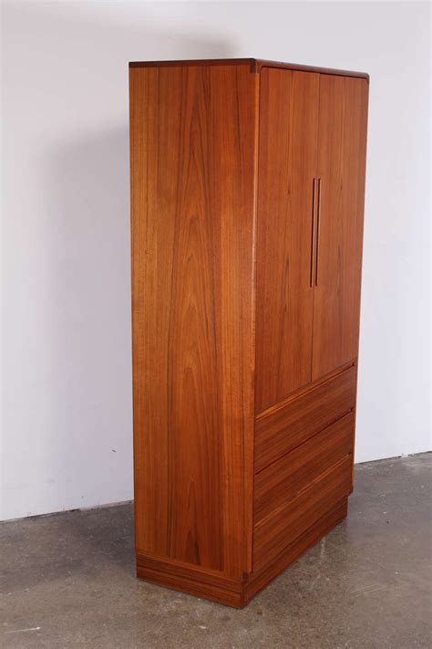 teak armoire teak armoire by torring at 1stdibs