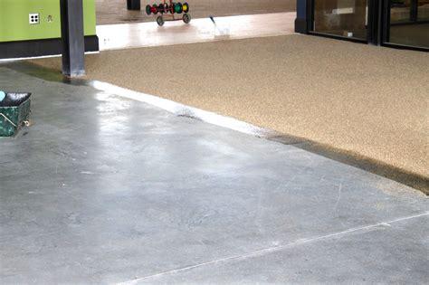 vinyl flooring that looks like concrete modern house