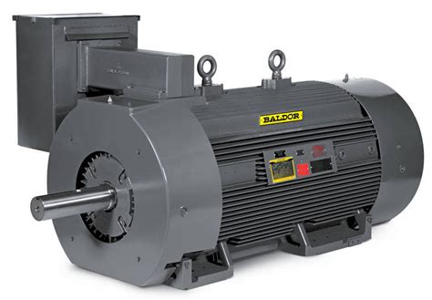 baldor electric company introduces large ac gpm induction motor product line