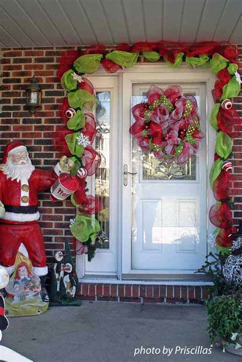 christmas door decorating 40 christmas door decorating ideas christmas celebrations