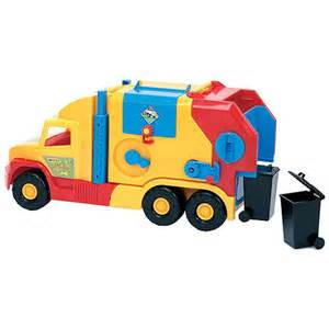 Wader toy garbage truck play vehicles trains amp remote control