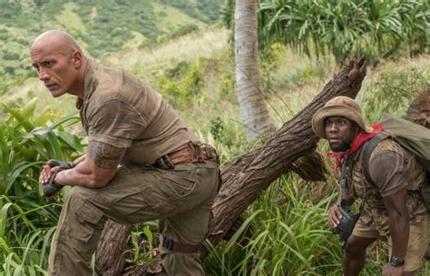 dwayne johnson tattoo welcome to the jungle jumanji welcome to the jungle review action packed and