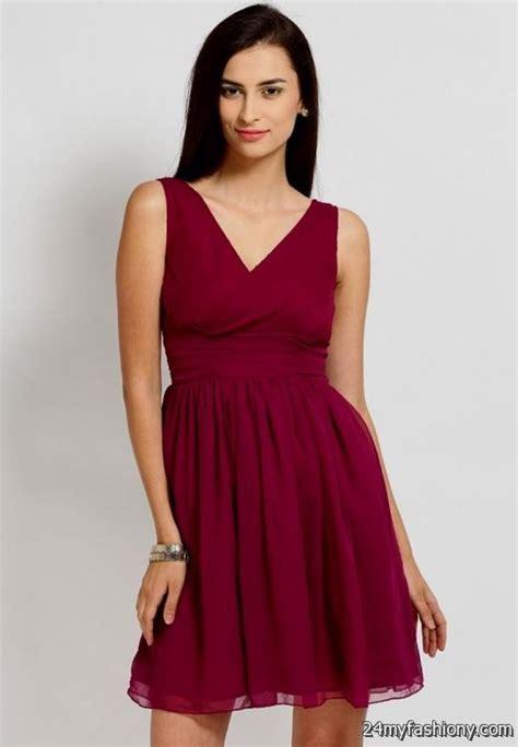 Dress Maroon maroon dress 2016 2017 b2b fashion