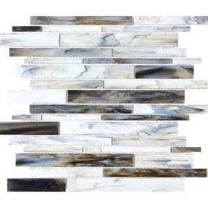shop anatolia tile pacific pearl glass mosaic wall tile