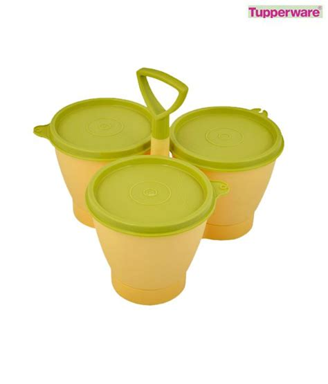 Tupperware Table Collection Set 2pcs tupperware legacy table set buy at best price in india snapdeal