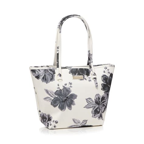 bailey quinn bailey quinn womens white floral print shopper bag from
