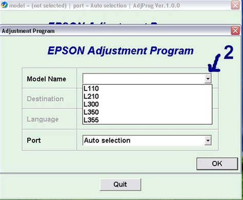Resetter Epson L110 Communication Error | how to reset epson l110 printer tools