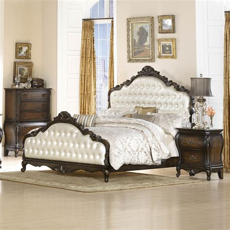 pearl bedroom furniture homelegance bayard park 3 piece panel bedroom set w pearl