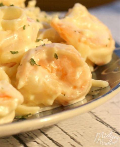 shrimp alfredo recipe  homemade alfredo sauce