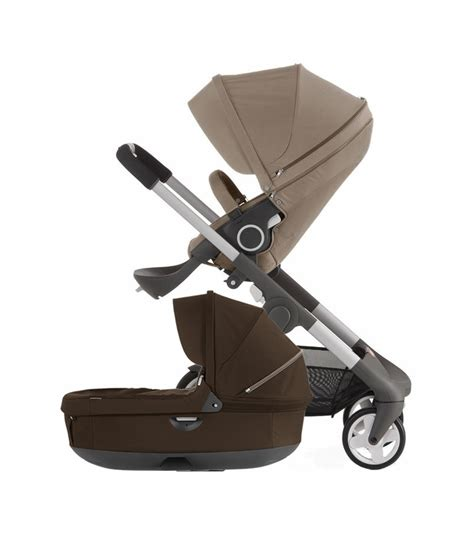 stokke baby wagen stokke crusi carriage brown