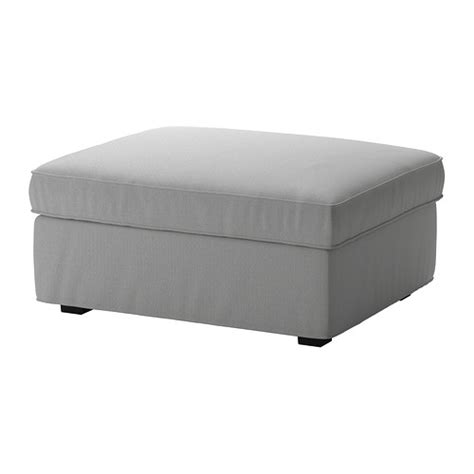 ikea storage ottoman kivik ottoman with storage orrsta light gray ikea