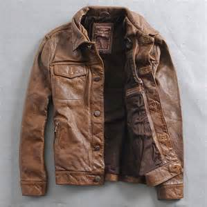 Thick Cowhide Leather Aliexpress Com Buy 2015 Leather Jacket Men Fashion High