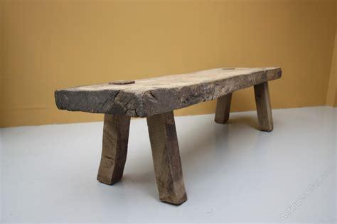 elm bench table antique elm pig bench table antiques atlas