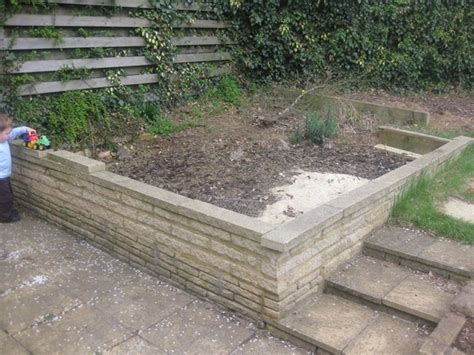 Small Garden Walls Taking Small Garden Wall Demolition Clearing