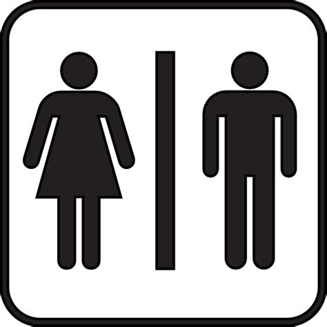 Woman Man Bathroom Clip Art At Clker Com Vector Clip Art Online Royalty Free