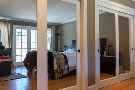 Mirror Bypass Closet Doors Delightful Custom Door And Mirror Closet Doors At The Home
