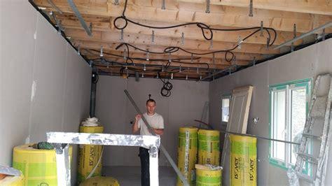 Doublage Plafond by R 233 Alisation De L Isolation Thermique Et Faux Plafond De