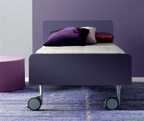 letto su ruote letto moderno su ruote tobia di doimo cityline