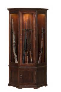 learn more about our heirloom hardwood gun cabinets