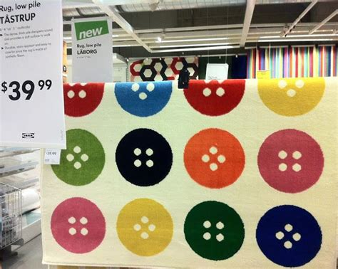 ikea button rug ikea button rug new for 2014 sewing themed decorations ikea rugs and buttons