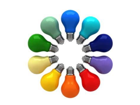 Light Bulb Colors by How To Draw Light Bulbs