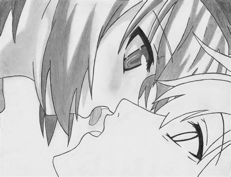 imagenes de amor para dibujar anime dibujando beso frances estilo anime taringa
