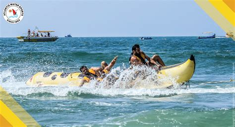 banana boat ride at baga beach top 5 activities to do in goa during the monsoons