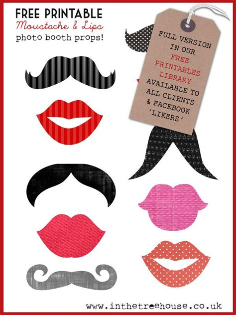 free printable mustache and lips photo booth props google image result for http www inthetreehouse co uk wp