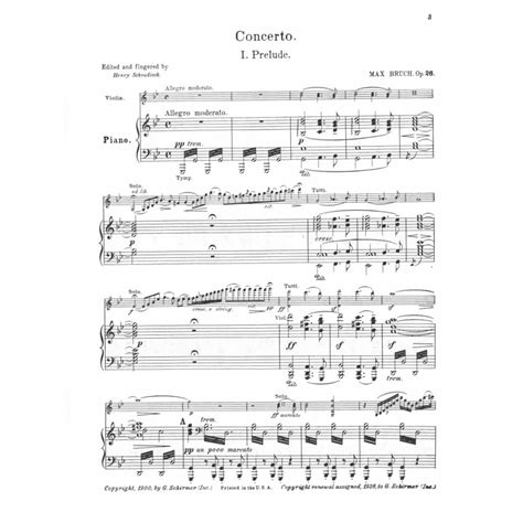 0014117541 piano concerto no g minor bruch max concerto no 1 in g minor op 26 for violin and