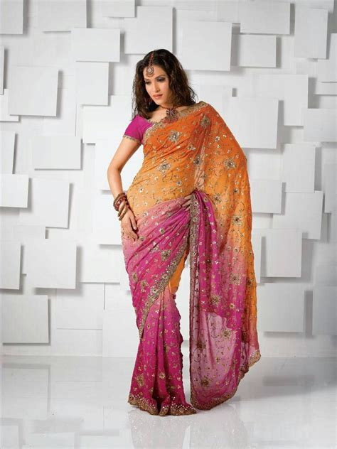 Fashionszine How To Wear Saree To Look Slim