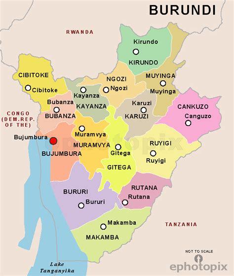 africa map burundi burundi state map state map of burundi