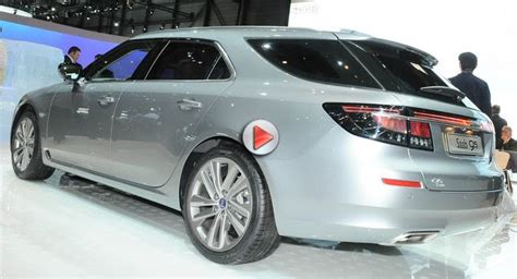 video of the new saab 9 5 sportcombi from the 2011 geneva