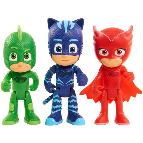 Pj Masks Light Up Figure With Bracelet Owlette pj masks light up figure wristband catboy owlette gekko ebay