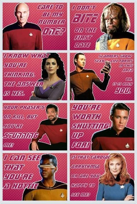 trek valentines day cards trek valentines quot you re worth shutting up for