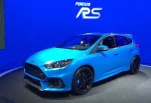 2016 ford focus rs coming to america everything video tflcar com