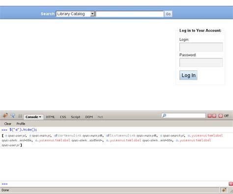 firebug console instant javascript testing with firebug s console koha