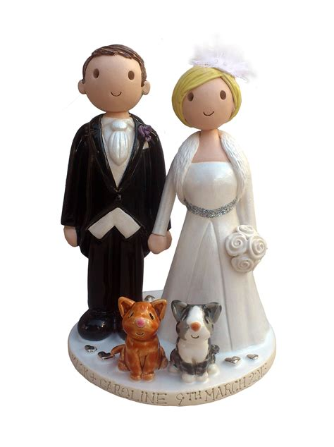 Wedding Cake Topper by Wedding Cake Toppers Made Personalised Wedding Cake