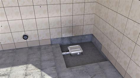 bodengleiche dusche abfluss zu hoch duschwanne nachtr 228 glich abdichten gispatcher