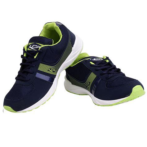 stylish sports shoes buy lancer q8 navy blue green stylish sports shoes for